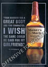 Maker's Mark - Offensive Ad